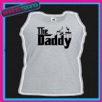 THE DADDY NEW DAD FATHER UNISEX VEST TOP